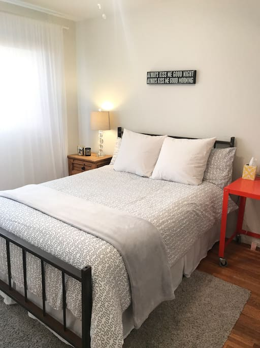 The bedroom for guest