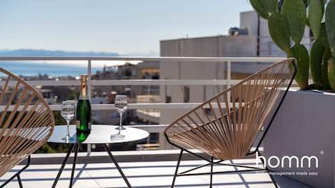 25 m² homm splitter ny takleilighet i Ano Glyfada