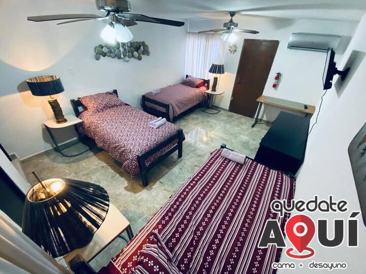 Habitación de Lujo en Excelente ubicación (1)