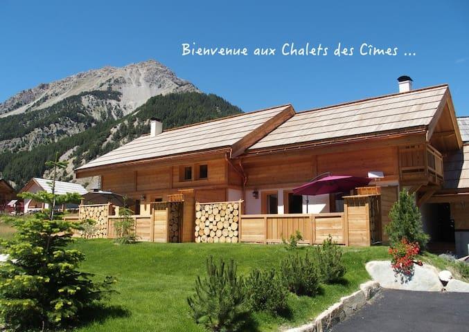 Nouveau à Névache : Le Bellety authentique chalet - Névache - Chalet