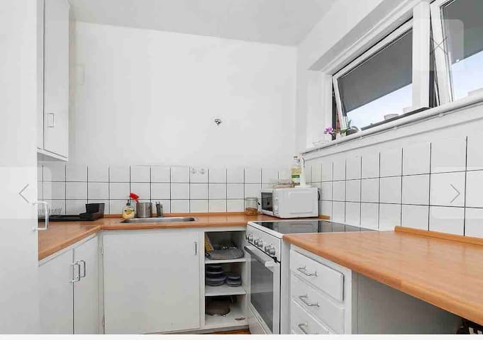 Big privat 1 bedroom apartment in Nørrebro