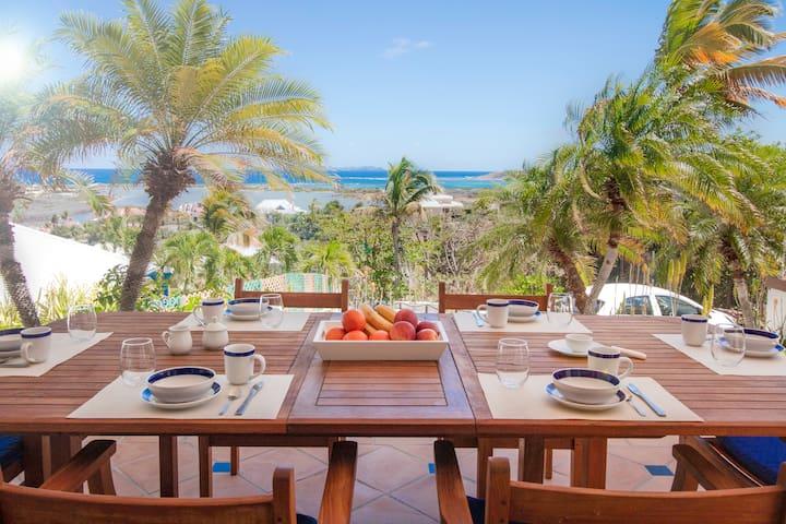 VILLA SAPHIR - Orient Beach - 3 bedrooms