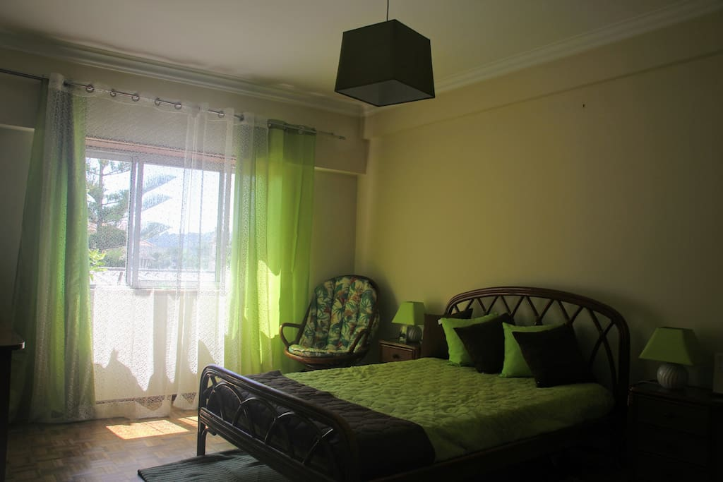 Big double room with wardrobe and view