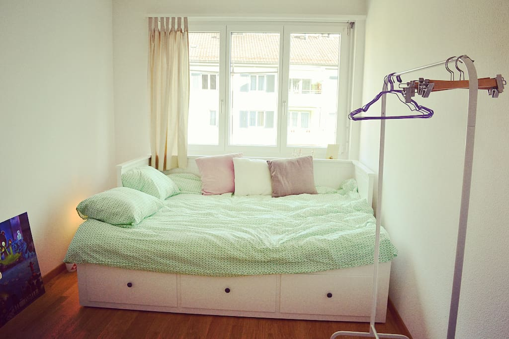 your cozy and brand new bed!