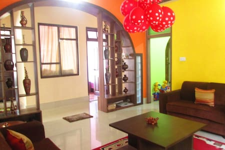 Experience Local Home in Urban Hills - East Sikkim - Huis