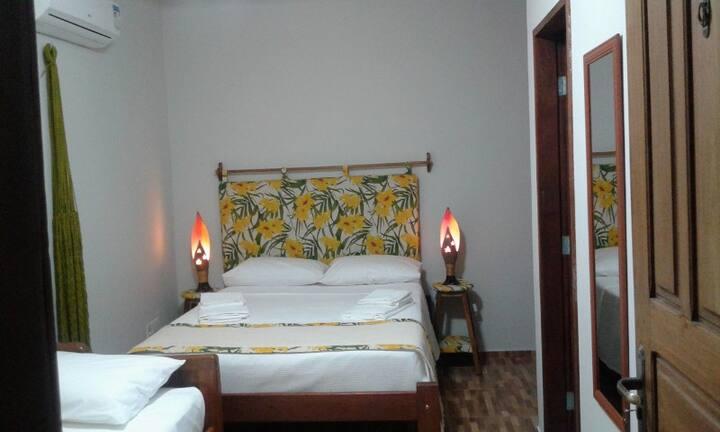 Casa Strela Jericoacoara - Suíte Quádrupla