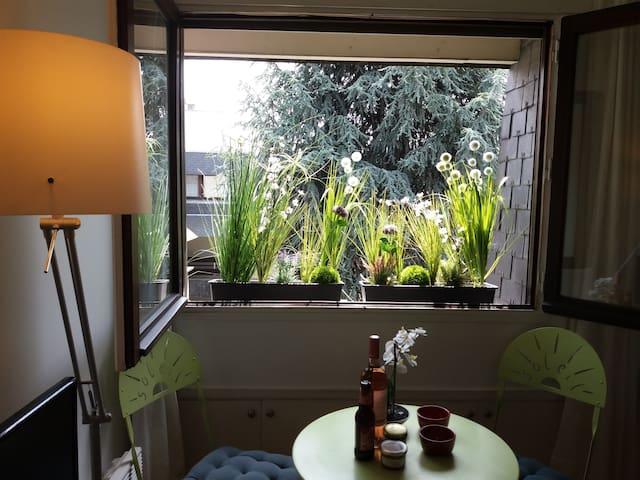Centre Paris 5. Calme. Soleil. Studio sur jardin.