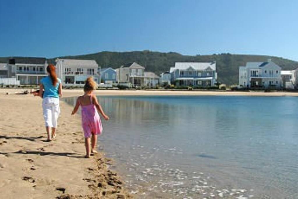 Thesen Island Beach