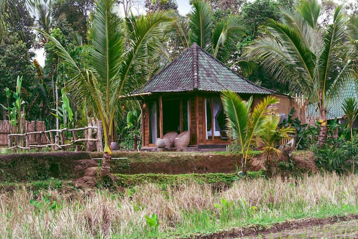 1 BR Private cottage surrounding with rice fields