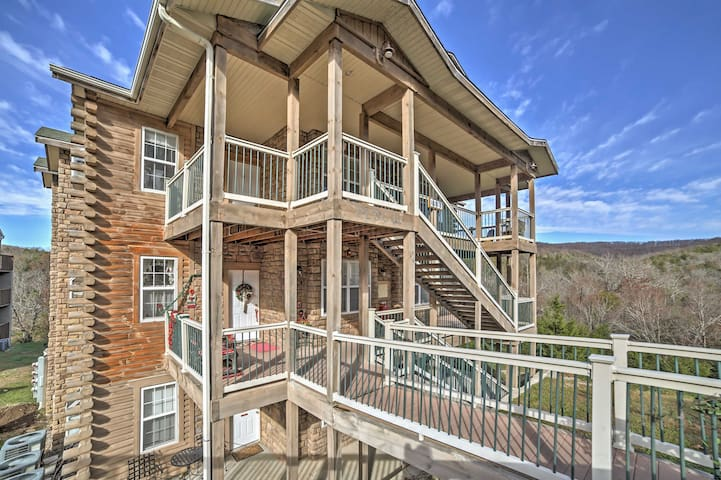 2BR Branson Condo w/ Indoor Heated Pool! - Branson - Appartement en résidence