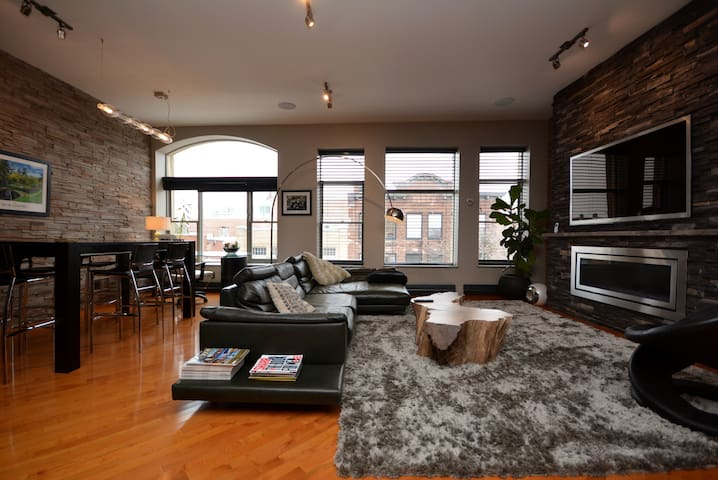 Downtown Moncton Executive Loft