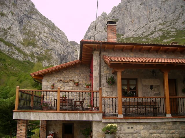 Acogedora casa rural en el Parque Natural de Ponga