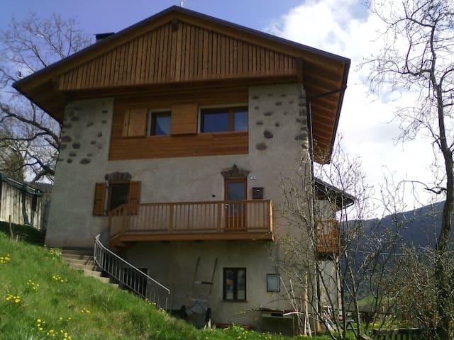 Antico Maso nella valle incantata - openspace - Sant'Orsola Terme - Haus