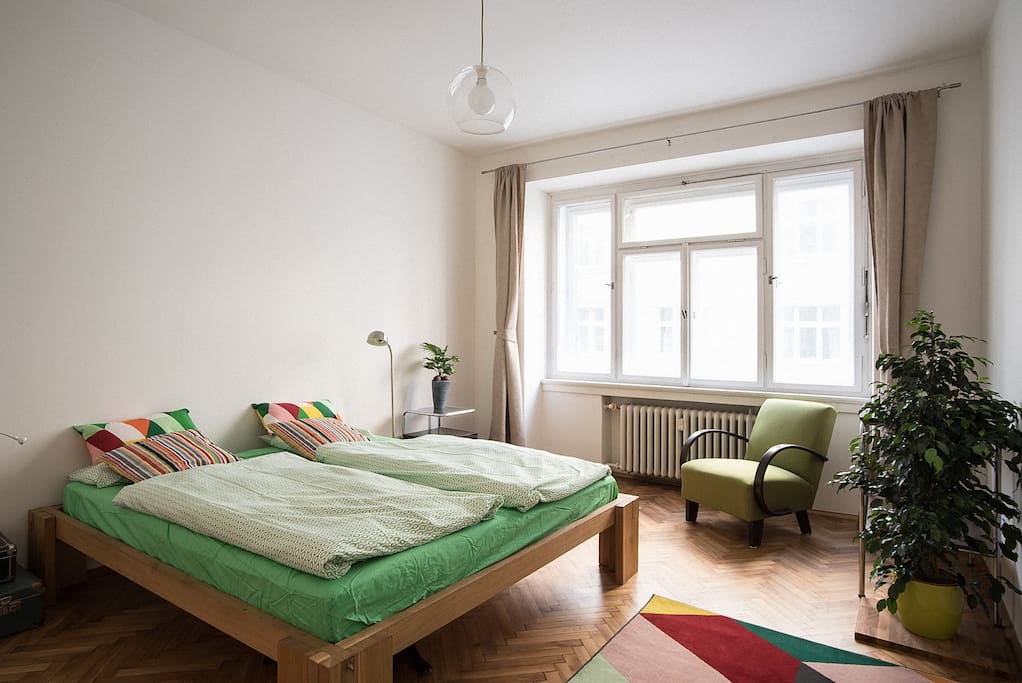 Bedroom is comfortable and warm with perfectly clean linens and sheets.