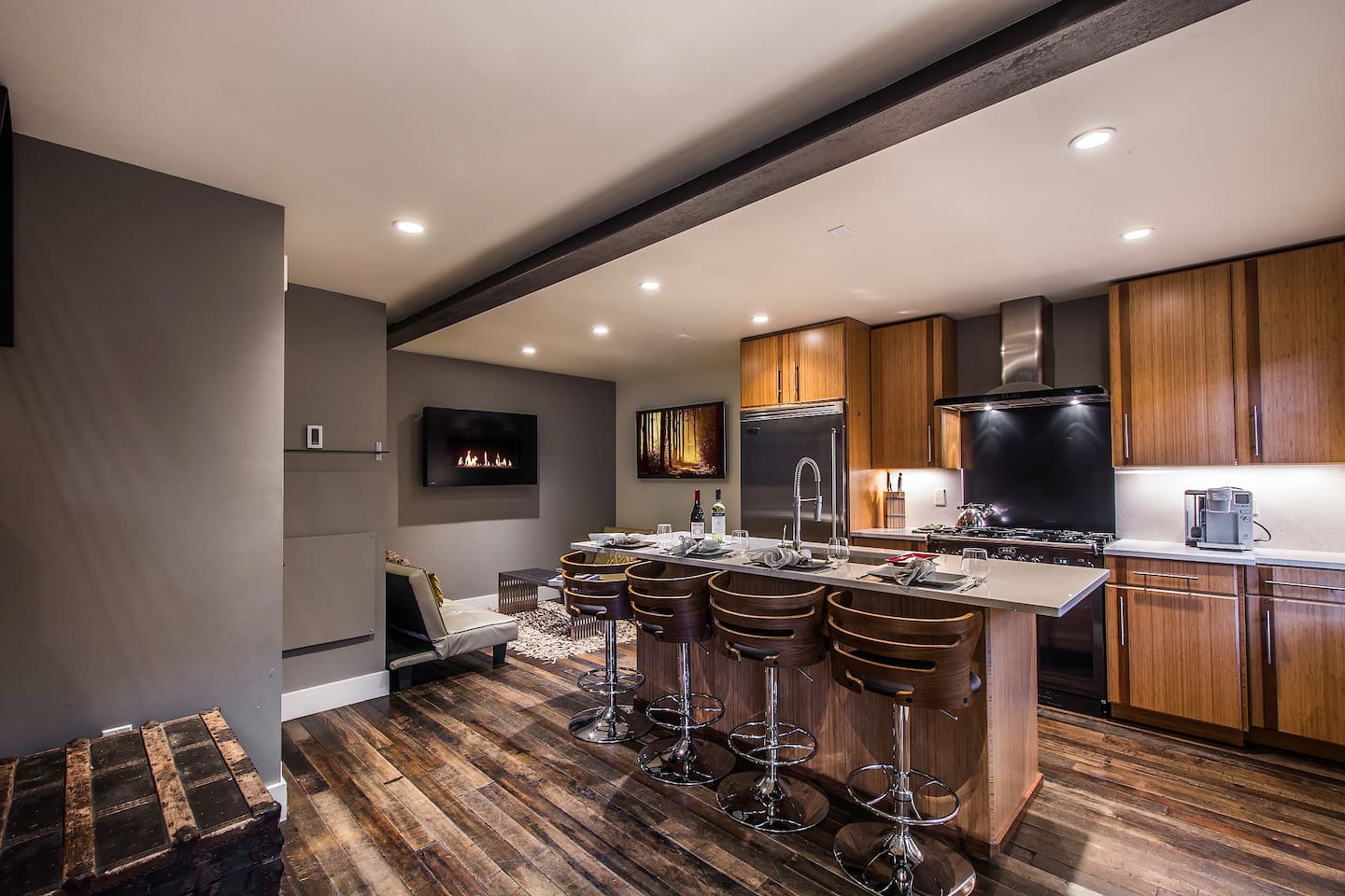 The first LED certified unit in Utah. And the only Luxury Private home in Down Town Park City !