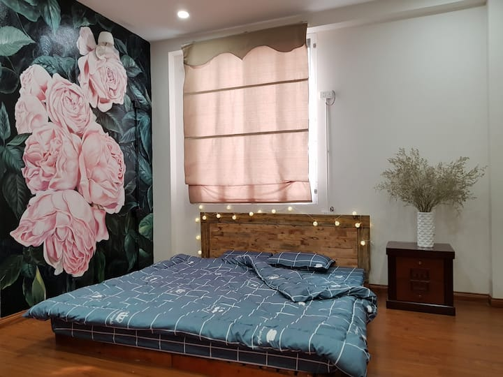 Flower Hostel Hanoi Old Quater 103 with City View