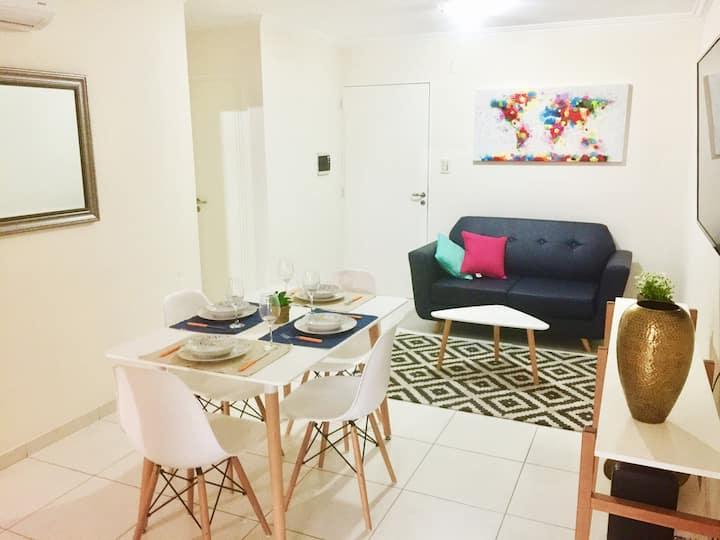 Nuevo depto 1 dormitorio con balcón en Nueva Cba