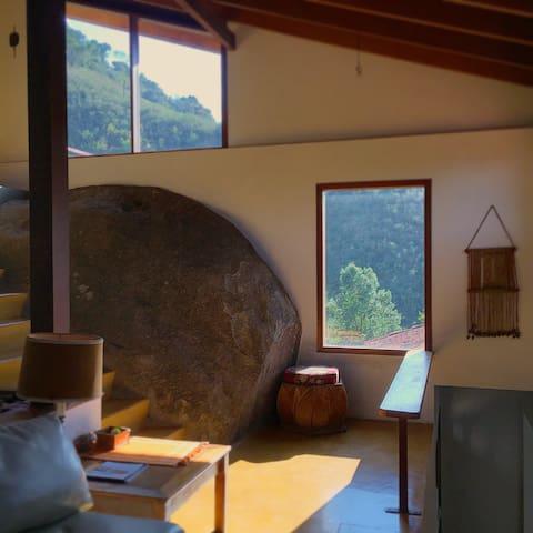 Casa da Pedra - Quinta Terras Altas - Goncalves  - Cabaña