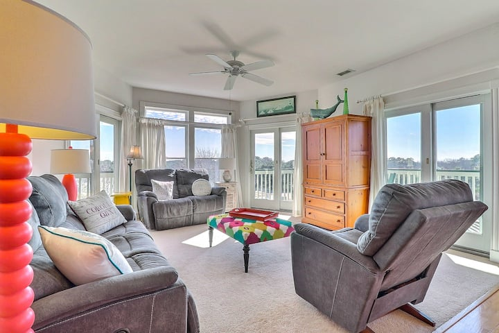WS-F4 Postcard Perfect* 5 min. drive to beach access*Community Pool & Currituck Club Privileges