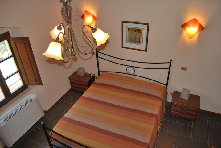 Camera Arancione Agriturismo TirNaNog - Terranuova Bracciolini - Pis