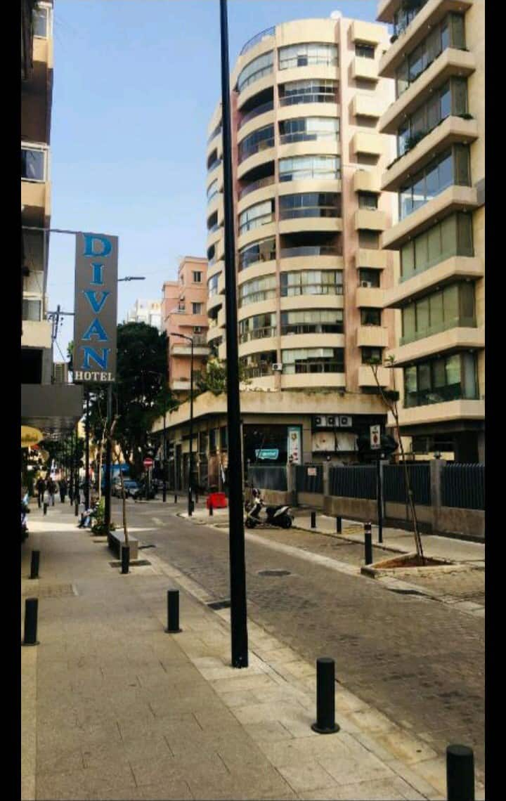 In the Heart of Hamra; near the shopping area