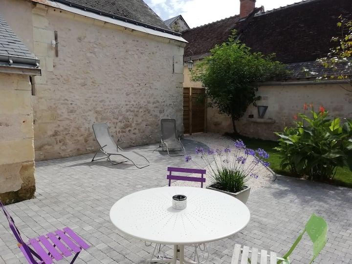 Charmante maison de village en Val de Loire