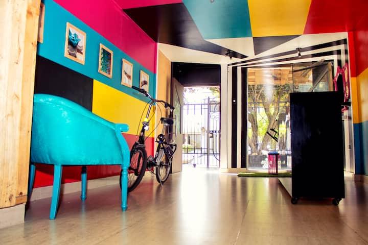 Prívate room on a design house  1