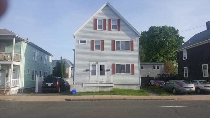 2nd floor full apartment with 3 br in Malden, MA