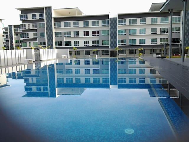 Kota Kinabalu Homestay.  Very clean & comfortable