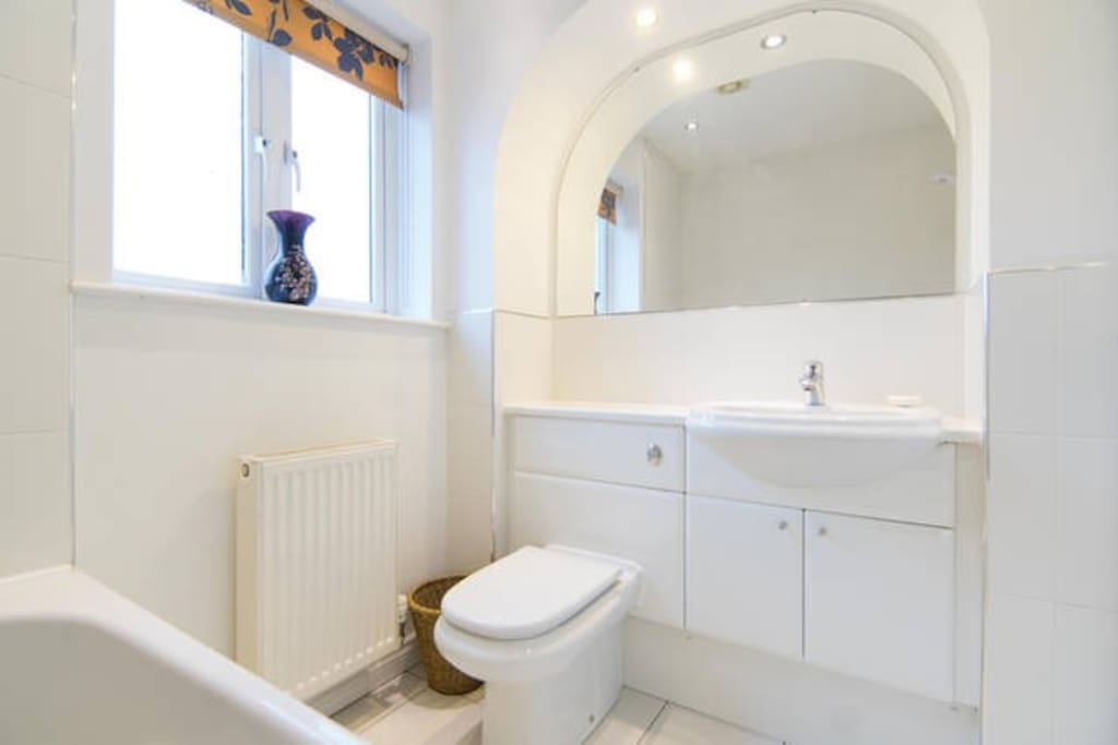 This bathroom could be shared if we have other guests