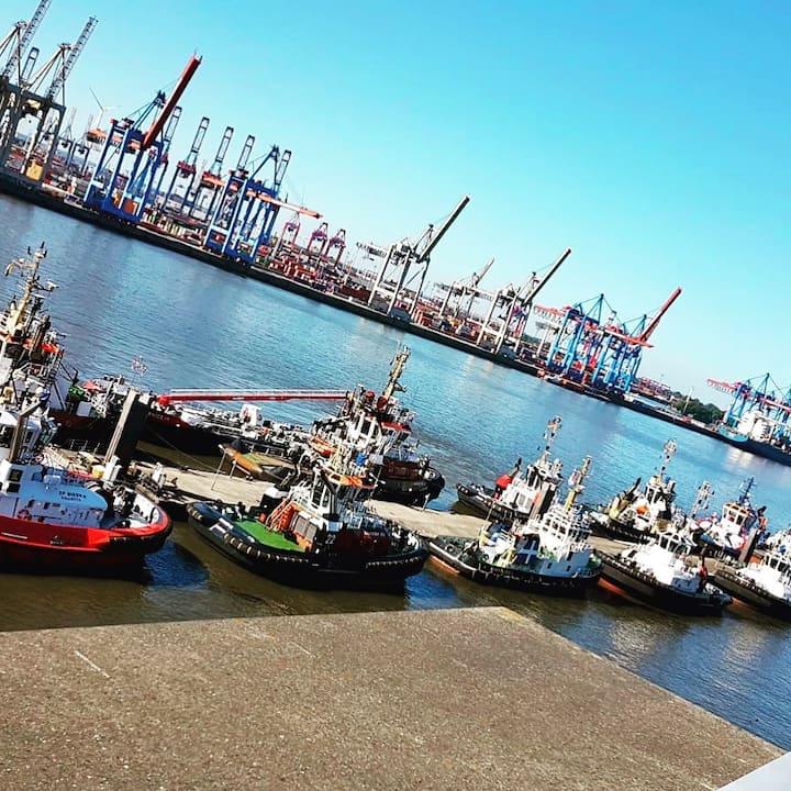 Vista sul porto.