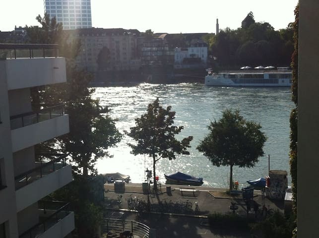 Bright Room with Rhein view