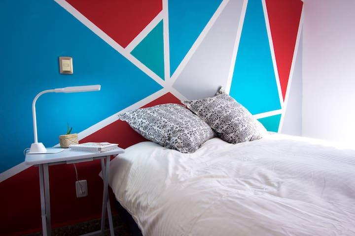 Casa Emma- habitación privada (azul) con estilo!