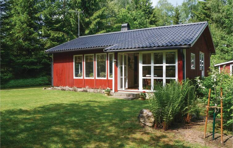 Holiday cottage with 1 bedroom on 58m² in Åsljunga