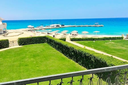 First Row beach front Villa in Sokhna