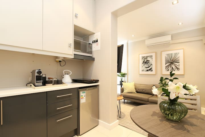 Kitchenette and Lounge