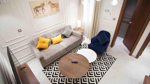 Modern furnished 1 bedroom apartment,bills inclu