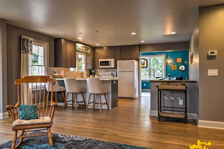 Remodeled Harrisonburg Home w/ Level II EV Charger
