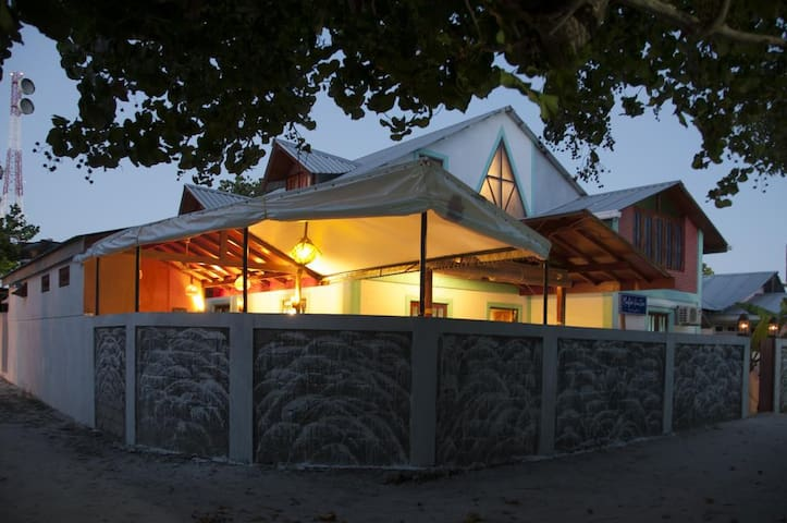 Private rooms at a local house