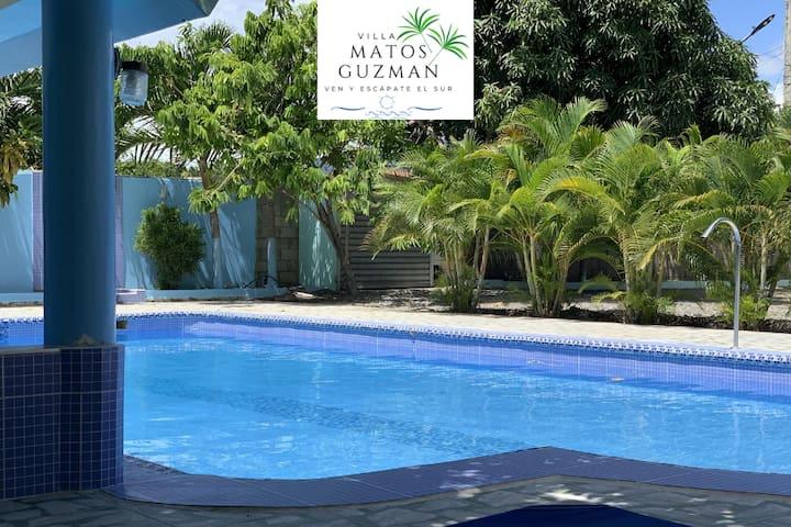 Villa entera Matos Guzman❤️/Piscina.