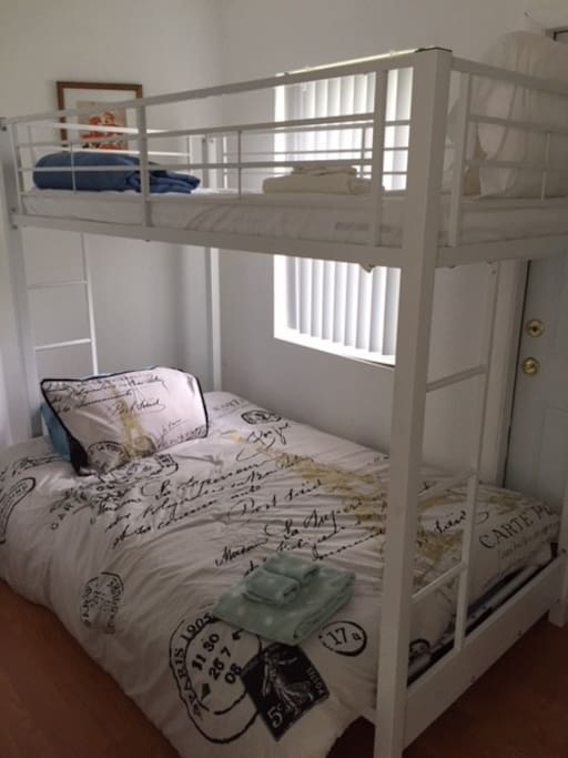 Bunk Bed in Bedroom #2
