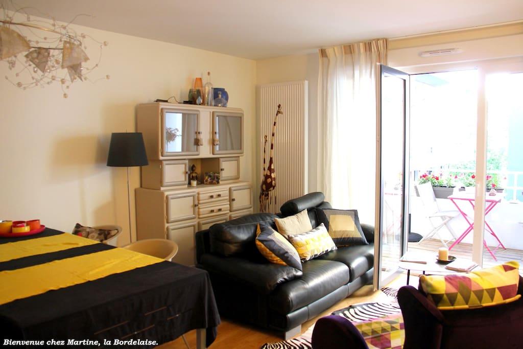 Chambre chaleureuse dans appartement neuf appartements for Chambre a louer bordeaux
