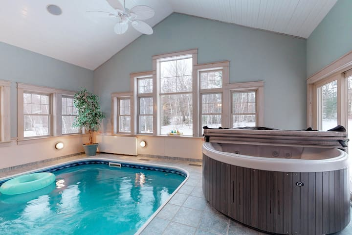 Stunning Modern Home W Private Indoor Pool Hot Tub Washer Dryer Secluded Houses For Rent In Dover Foxcroft Maine United States