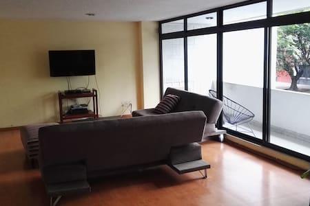 Cool Bedroom in an amazing big apartment - Polanco - Ciudad de México