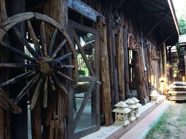 Huan Jao Hom, Thai Wooden House - Tambon Nong Han - Naturhytte