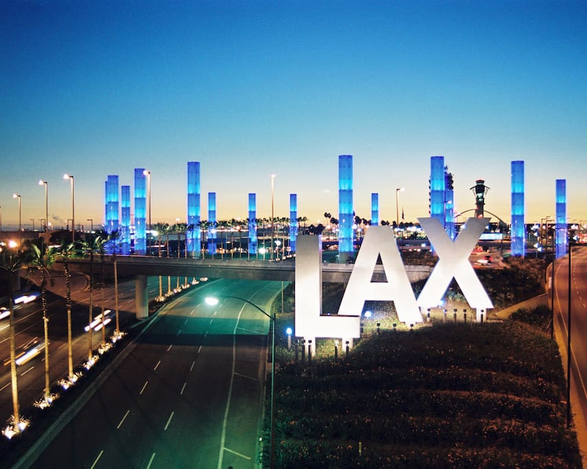 We are located 8 MINUTES from LAX. Perfect for your first or last night in LA!