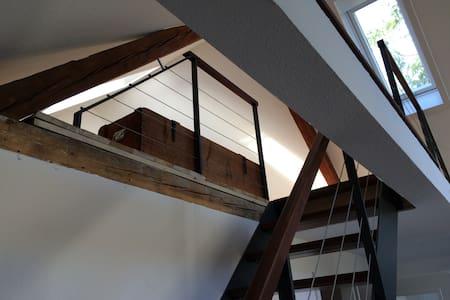 Galeriewohnung im Zentrum Baden-Badens mit Kamin - Baden-Baden - Wohnung
