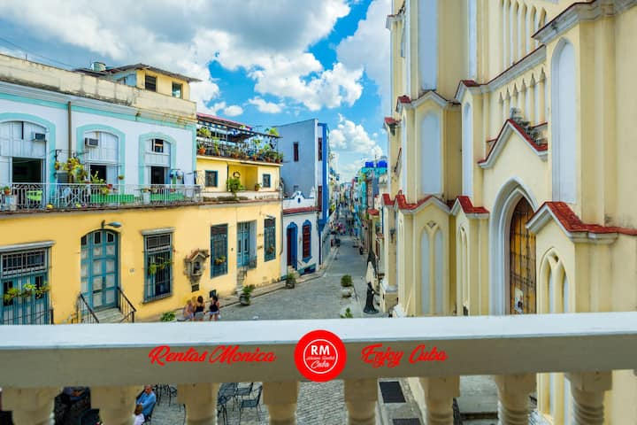 Apartment Havana Angel WiFi (2 bedrooms private)