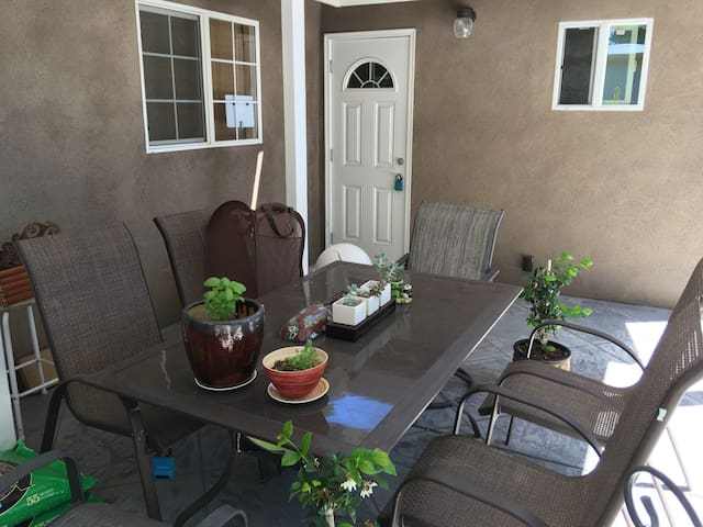 "Cozy Room with ""Private"" Entrance, quiet neighbhd - Fremont - Casa"