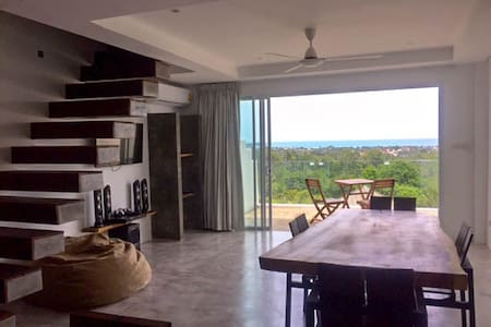 SEA VIEW DUPLEX + POOL + WiFi - Ko Samui - Wohnung